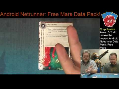 Android: Netrunner Free Mars Corporation Review
