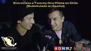 Entrevista a Twenty One Pilots Lollapalooza Chile 2019 ADN 91.7 (Subtitulada en Epañol)