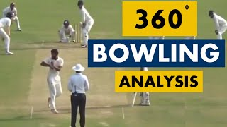 Shiva Singh's Switch Bowling Action (360-degree delivery) Analysis |  Analysis Series