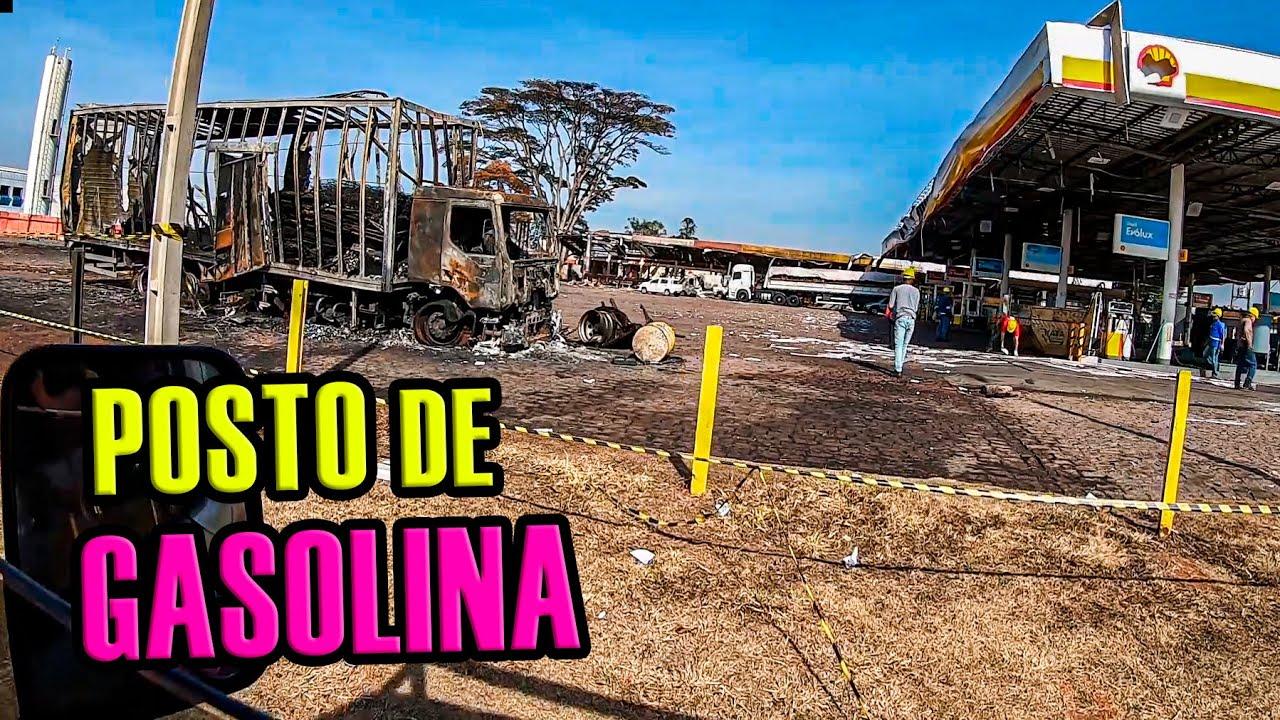 Passamos no Posto de Gasolina que o Caminhão Explodiu em Rio Claro
