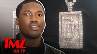 Meek Mill Dropped $540k on Diamond Encrusted Chain (TMZ TV)