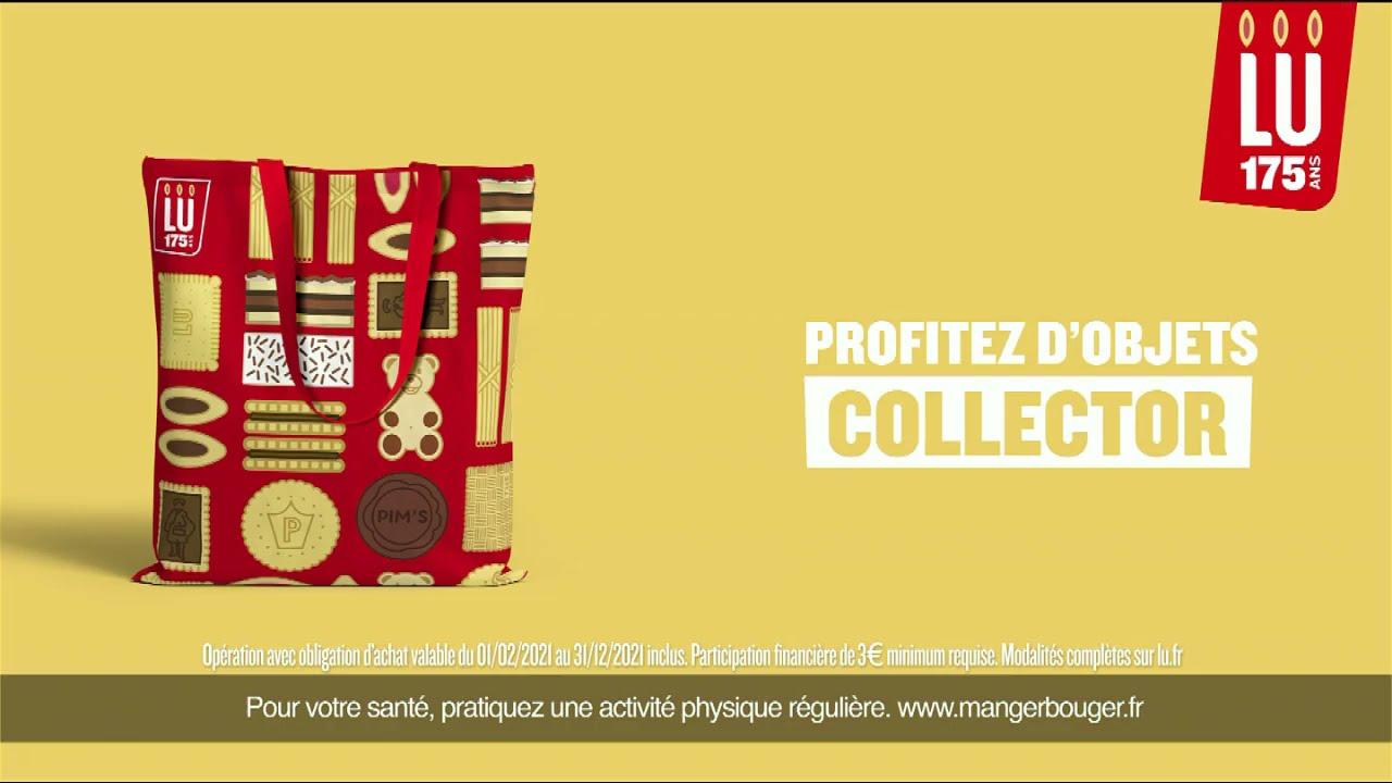 """Musique de la pub Lu 175 ans """"profitez d'objets collector"""" Pub 25s Mai 2021"""