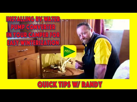 Installing Rv Water Pump Converter In Your Camper For Easy
