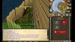 Runescape Draconic Visage Drop + Getting Armadyl Godsword