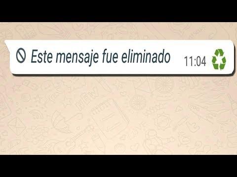 TRUCO RECUPERA LOS MENSAJES DE WHATSAPP ELIMINADOS POR TUS CONTACTOS