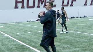 WATCH: Johnny Manziel Throws for NFL Scouts 3/27/18 at Texas A&M