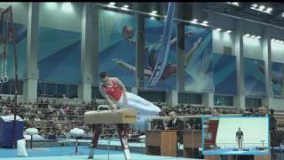 Белявский Конь-махи / Дмитриева ОП Финал - Чемпионат России 2017