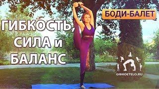 ГИБКОСТЬ, СИЛА и БАЛАНС / Комплекс для стройных ног с элементами Боди-балета
