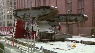 Crane Collapse Probe Begins