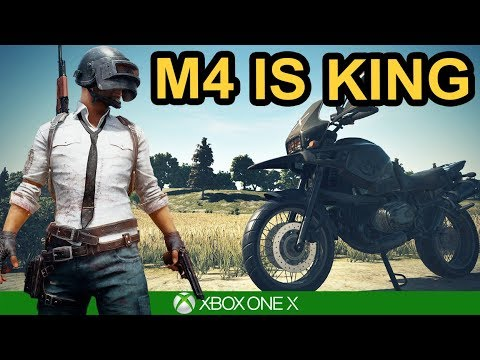 M4 IS KING / SOLO WIN / PUBG Xbox One X
