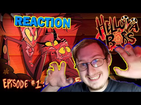 HELLUVA BOSS - Murder Family // S1: Episode 1 (RUS DUB) | RUSSIAN REACTION