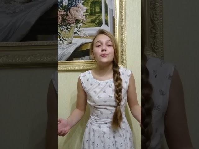Изображение предпросмотра прочтения – ЕлизаветаЧерепанова читает произведение «Девушка пела в церковном хоре» А.А.Блока
