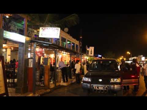 Gambie Kololi de nuit / Gambia Kololi by night