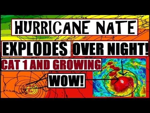 *BREAKING* Hurricane NATE