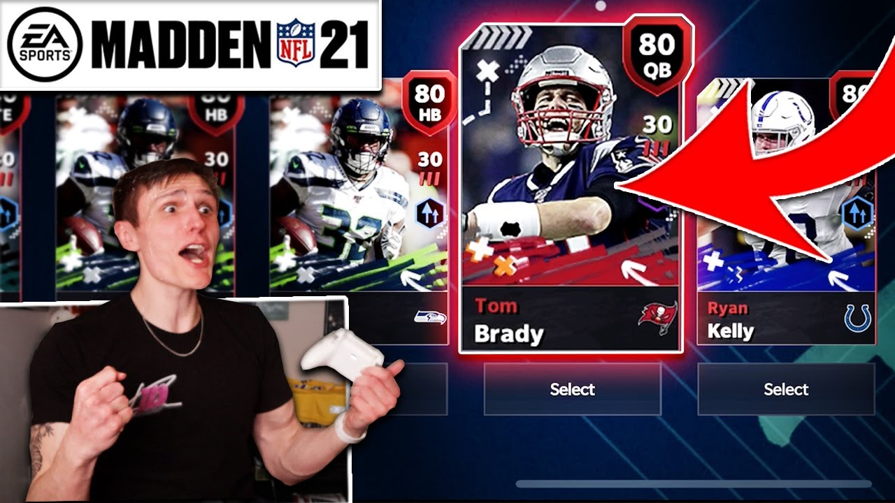 This pull was actually *INSANE*... - Madden 21... mobile