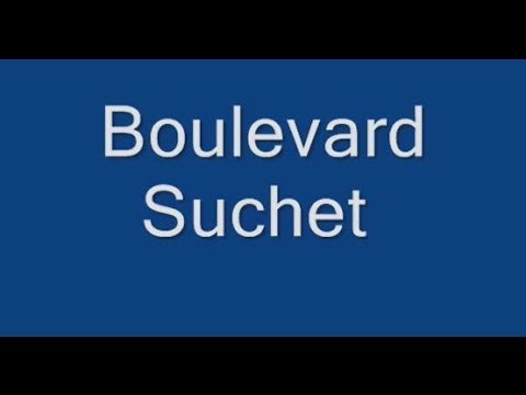 Boulevard Suchet Paris Arrondissement  16e