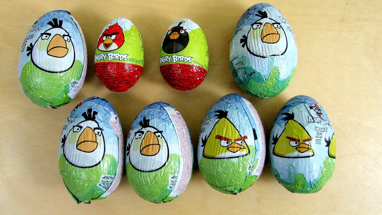 Download Angry Birds Surprise Chocolate Eggs
