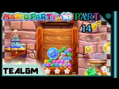 Mario Party 10 - Part 14: Bonus Games - Jewel Drop