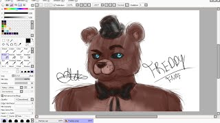 【Freddy Fazbear】Five Nights At Freddy's 【Digital Art】