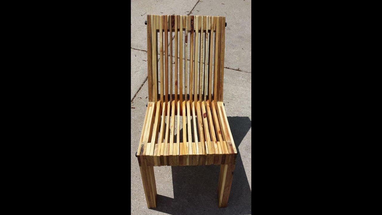 Оригинальный стул своими руками