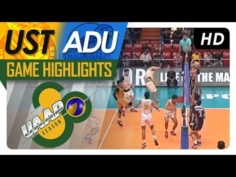 UAAP 80 MV: UST vs. AdU | Game Highlights | April 18, 2018