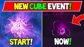 *NEW* [FULL] Todays CUBE EVENT RECAP! CRACKED OPEN + Tear Drops - Fortnite (+ Streamer Concerns!)