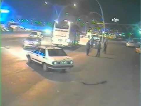 Ankara'daki feci kaza güvenlik kamerasında