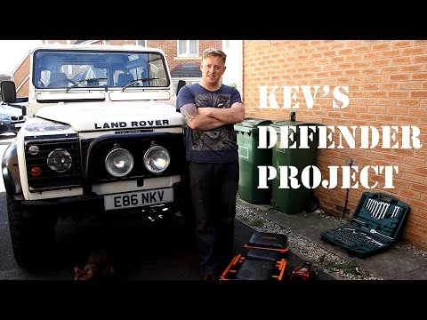 Kev's Defender Project Episode 4 - Dashboard Refurb part 1
