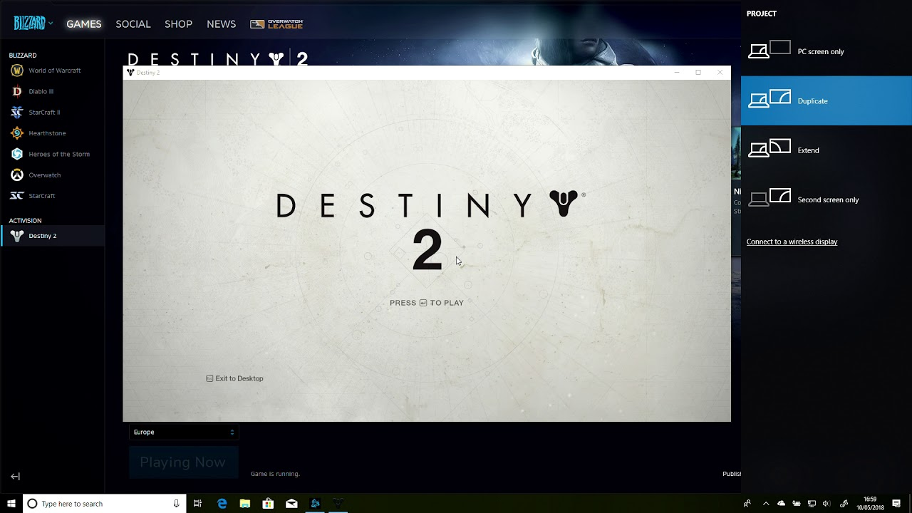 Destiny 2 - NVIDIA Black Screen on loading fix with Windows 10 1803 April  Update