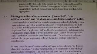2018 Coding Guideline:  Part 1