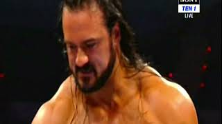 WWE RAW 02-19-2019 Dean Ambrose vs Drew Mcintyre  Full Fight