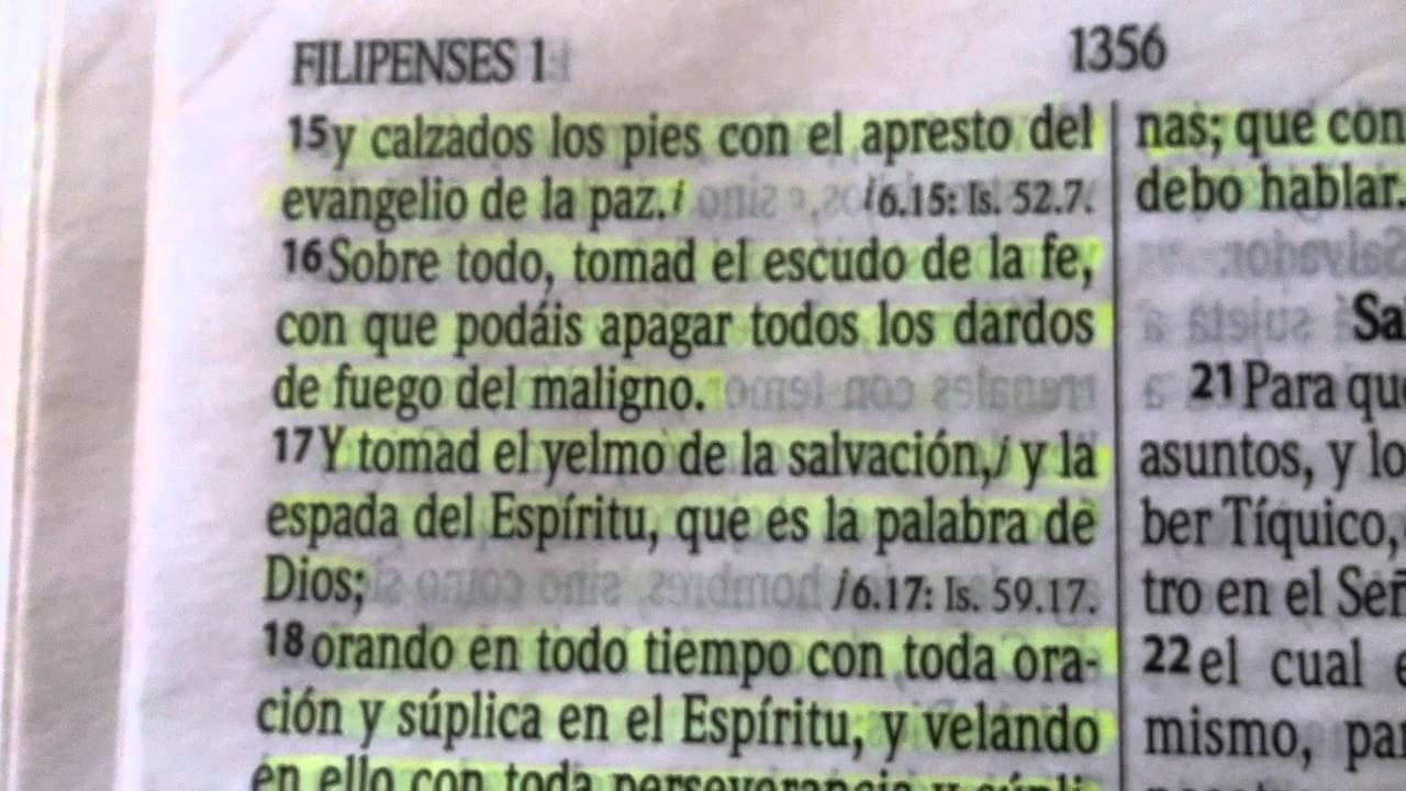 La Armadura De Dios Efesios 610 20 Youtube