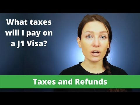 J1 Guide - Types of Tax you may pay