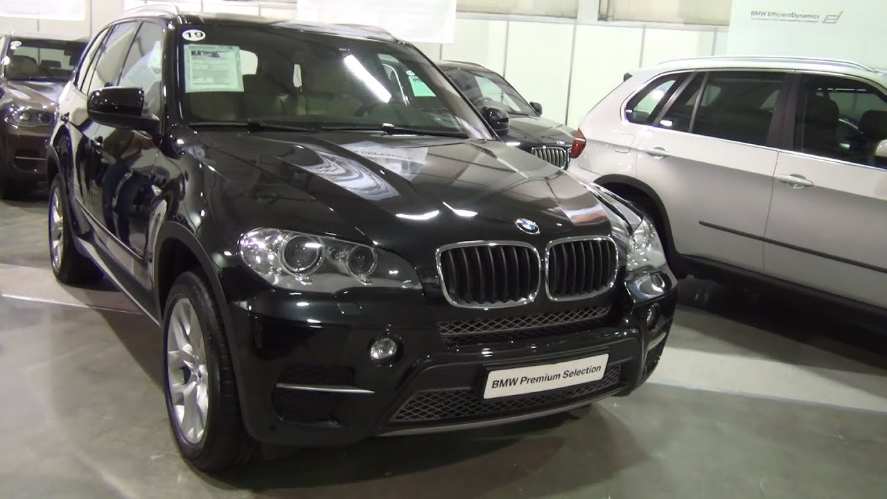 BMW X5 xDrive 30d 2013 Exterior and Interior in 3D 4K UHD