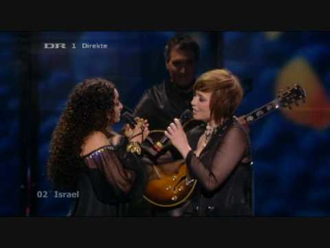 Eurovision - 2009 -  Israel -  There Must Be Another Way - Noa \u0026 Mira Awad - 02