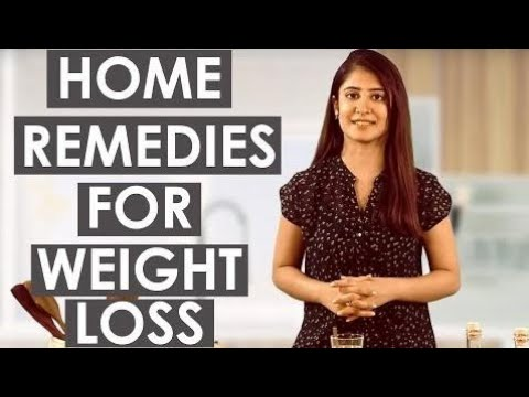 3 Fast & Easy HOME REMEDIES FOR WEIGHT LOSS (No Exercises) Lose 3Kg In 3 Weeks