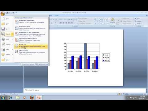 How To Save PowerPoint 2007 As HTML
