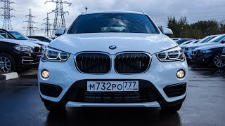 Тест драйв BMW X1 new 2015 / test drive BMW X1 new 2015