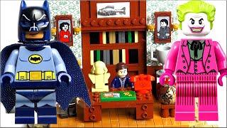 LEGO DC Super Heroes Обзор Лего Логово Бэтмена 76052. Лучший набор Лего Супер Герои Batman vs Joker