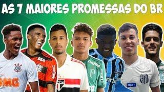 Quem são e quanto valem as 7 maiores promessas do futebol brasileiro
