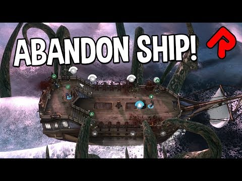 Abandon Ship gameplay: BEWARE the KRAKEN! (FTL & Sunless Sea-style PC roguelike game)