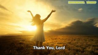 Thank You Lord Instrumental Don Moen