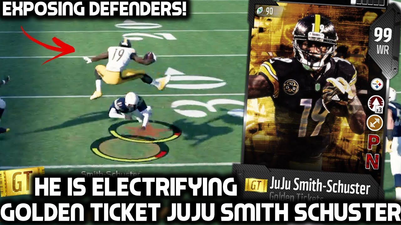 juju-smith-schuster-is-electrifying-we-get-2-golden-tickets-madden-18-ultimate-team