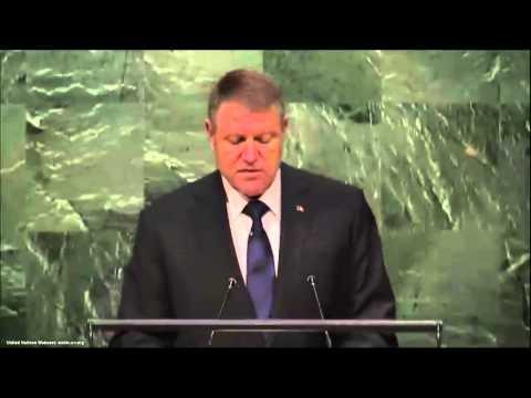 UN Speeches: Romania's President Klaus Iohannis