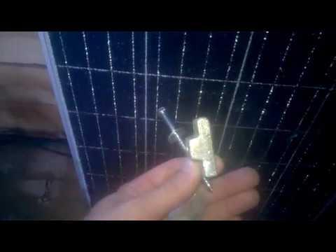 крепление солнечных панелей