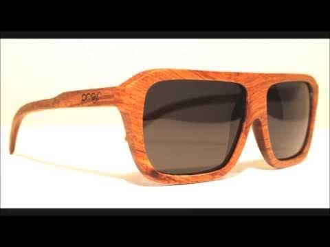b4394426f01d PROOF Eyewear Bud Unique Wood Framed Sunglasses