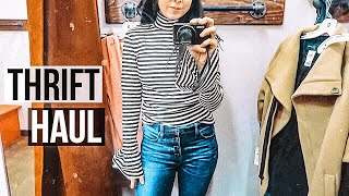Thrift With Me + try-on haul! Buffalo Exchange