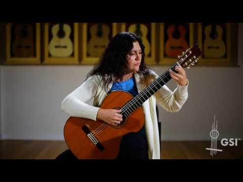 Segovia's 1969 Ramirez - Irina Kulikova plays Chopin Vals No. 7