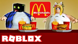 THE EXPERIENCE AFTER 3 HOURS IN McDonald's - Roblox [English/HD]