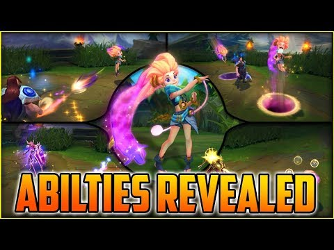 ZOE NEW CHAMPION ABILITIES FINALLY REVEALED! – Her Damage Looks BUSTED!